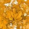 ORANGE LEAVES by ANNETTE HAGGER
