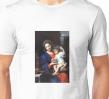 Baby Jesus and Mary Painting Unisex T-Shirt