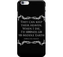 Quotes iPhone Case/Skin