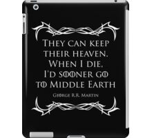 Quotes iPad Case/Skin