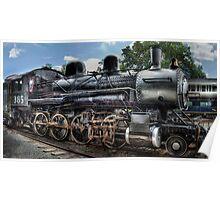 Baldwin 2-8-0 Consolidation Locomotive Poster