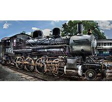Baldwin 2-8-0 Consolidation Locomotive Photographic Print