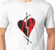 a broken heart Unisex T-Shirt