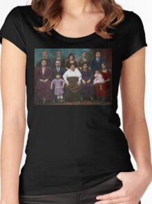 Americana - This is my family 1925 Women's Fitted Scoop T-Shirt