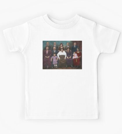 Americana - This is my family 1925 Kids Tee