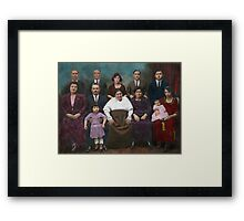 Americana - This is my family 1925 Framed Print