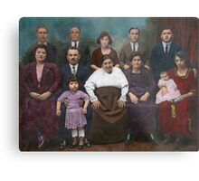 Americana - This is my family 1925 Metal Print