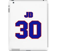 National baseball player JD Closser jersey 30 iPad Case/Skin