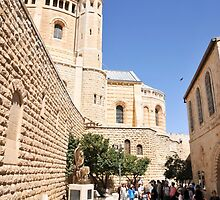 Israel, Jerusalem, Hagia Maria Sion Abbey (Dormition Abbey) by PhotoStock-Isra