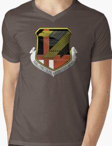 Yellow Squadron Insignia Mens V-Neck T-Shirt