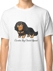 Cavalier Collection - Black & Tan Labelled Classic T-Shirt