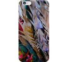 Colorful Cranes II iPhone Case/Skin