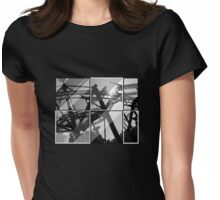 Roller coaster t-shirt Womens Fitted T-Shirt