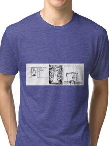 Bear R&D Chemist - Stock Room Tri-blend T-Shirt