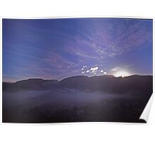 QUEENSTOWN AT DAWN Poster