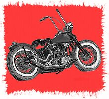 Red splash, Knuckle bobber by MartinSpayne