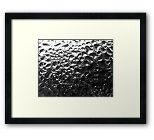 Condensation Framed Print