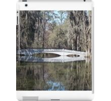 Magnolia Plantation bridge iPad Case/Skin