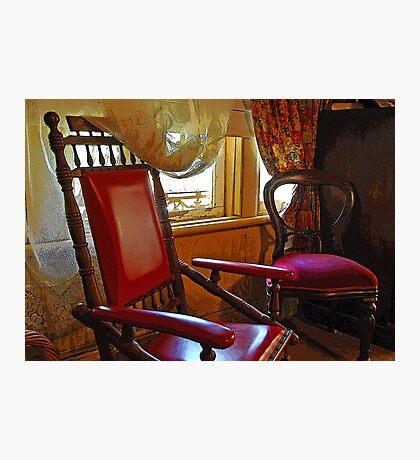Grandma's Chair Photographic Print