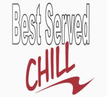 best served chill by Alex McCabe