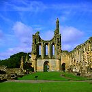 Byland Abbey  North Yorkshire by Trevor Kersley