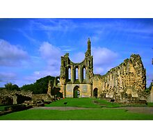 Byland Abbey  North Yorkshire Photographic Print