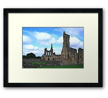 Byland Abbey -4 Framed Print