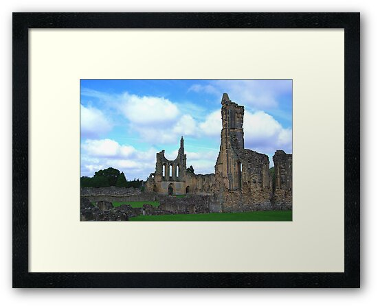 Byland Abbey -4 by Trevor Kersley