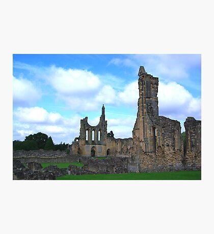 Byland Abbey -4 Photographic Print