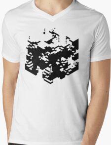 Isometric Decay Mens V-Neck T-Shirt