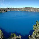 Blue Lake Mout Gambier by Steven Maynard