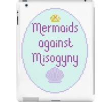 Mermaids Against Misogyny iPad Case/Skin