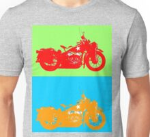 Warhorse blue and green Unisex T-Shirt
