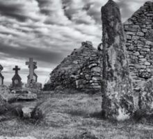 Benbecula: St. Columba's Kirk and Graveyard Sticker