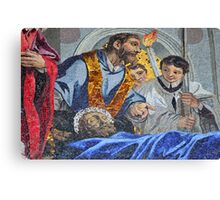 Veneration of St Mark Canvas Print