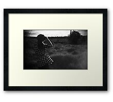 Are you there? Framed Print
