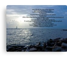 Healing Prayer  Canvas Print