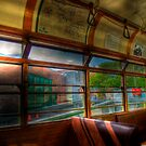 Old Strathcona Trolley by Myron Watamaniuk