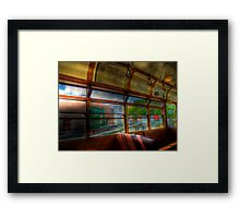 Old Strathcona Trolley Framed Print