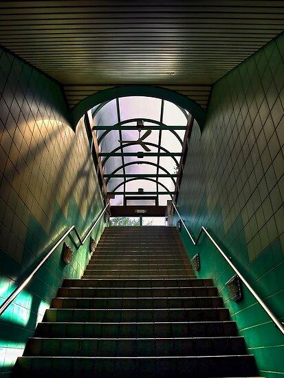 Stairs by Myron Watamaniuk