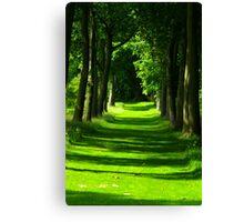 The Avenue - Thorp Perrow Canvas Print