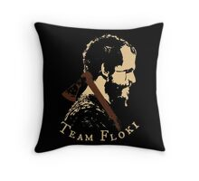 Team Floki - VIKINGS Throw Pillow