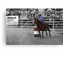 The rodeo- select color Canvas Print