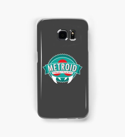 Metroid Cartography and Bounty Hunting Samsung Galaxy Case/Skin