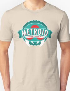 Metroid Cartography and Bounty Hunting Unisex T-Shirt