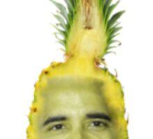 The Obama Pineapple  Sticker