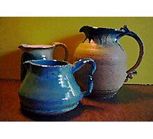 Handmade Pottery Photographic Print