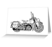 WLA pen and ink Greeting Card