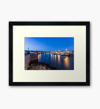 Howth Harbour, Ireland Framed Print