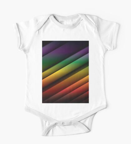 Abstract Colorful Background 4 One Piece - Short Sleeve